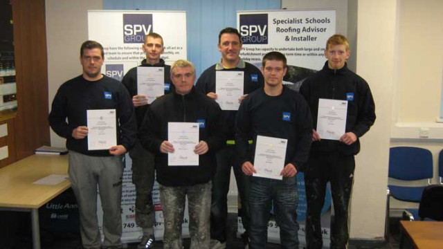 Congratulations In Order For Spv Liquid Waterproofing